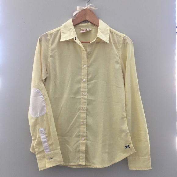 Tommy Hilfiger Other - Tommy Hilfiger for Girls Yellow Button Down